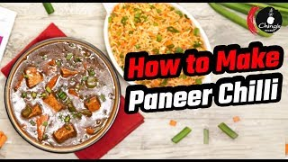 How To Make Restaurant Style Paneer Chilli