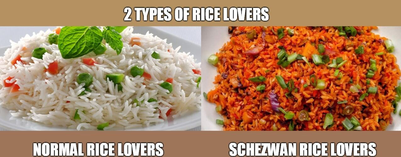 2 types of rice lovers