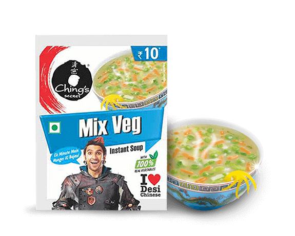 Mix Veg Instant Soup