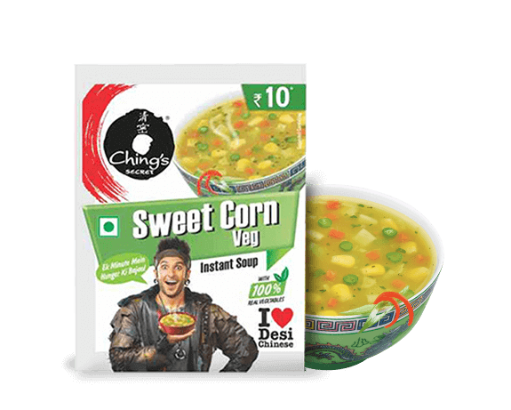 Sweet Corn Instant Soup