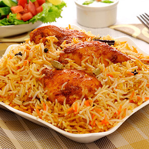 Schezwan Chicken Biryani by Harpal