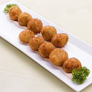 Schezwan Corn Cheese Balls by Harpal