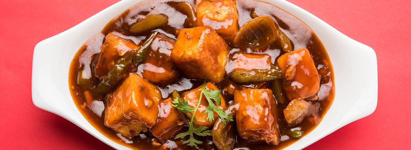 Desi Chinese Dragon Paneer Chilli Recipe Chings Secret