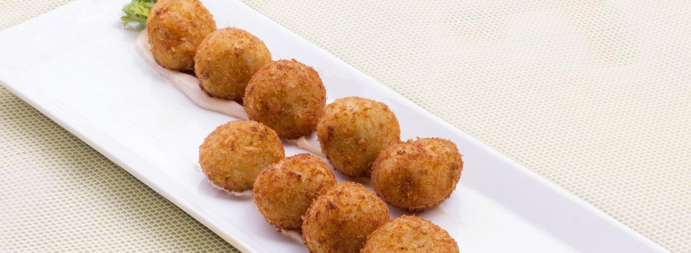 Schezwan Corn Cheese Balls by Harpal